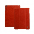 Jison Case Vintage Leather Smart Case Red for iPad Air (JS-ID5-01A30)