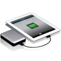 Just Mobile Gum Max Universal Charger Silver 10400 mAh for iPad, iPhone, iPod (JSM-PP818)
