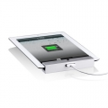 Just Mobile Horizontal Wall Mount Silver for iPad 3, iPad 2, iPad (JSM-WM818)