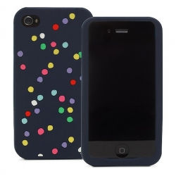 Kate Spade Premium Silicone Case for iPhone 4 (Style 01958-0)