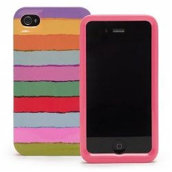 Kate Spade Premium HardShell Case Tropical for iPhone 4 (Style 01991-0)