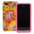 Kate Spade Premium HardShell Case Paisley for iPhone 4 (Style 01960-0)