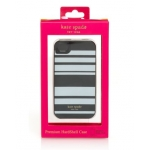 Kate Spade Premium HardShell Case Fairmont Stripe for iPhone 4, 4S (Style 01685-0)