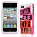 Kate Spade Premium HardShell Case Understated is Overrated for iPhone 4 (Style 02022-0)