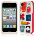 Kate Spade Premium HardShell Case Matchbook for iPhone 4 (Style 02019-0)