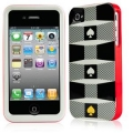 Kate Spade Premium HardShell Case Repeat for iPhone 4 (Style 02021-0)