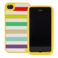 Kate Spade Premium Silicone Case Jubilee for iPhone 4 (Style 01963-0)