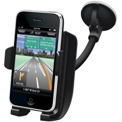 Kensington Windshield/Vent Car Mount with Sound Amplified for iPhone