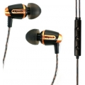 Klipsch Reference S4i In-Ear Headphones + Mic. - Cooper&Black (KL-1013731)