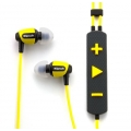 Klipsch Image S4i Rugged In-Ear Headphones + Mic. - Yellow (KL-1014995)