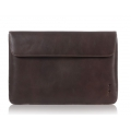 "Knomo Envelope Leather Sleeve for Laptops with 13"", Brown (KN-14-070-BRN)"