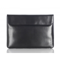 "Knomo Envelope Leather Sleeve for Laptops with 13"", Black (KN-14-070-BLK)"