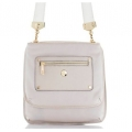 Knomo Oshika Leather Bag for iPad 3, iPad 2, iPad - Biege (KN-25-402-IVY)