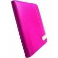 Krusell Gaia Booklet Style Leather Case for iPad - Pink (71179)