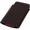 Lanriz Holster Series for iPhone 5 - Perforated Dark Brown (hsip5pdbrn)