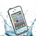 LifeProof iPhone Case for the iPhone 4, 4S White/Gray