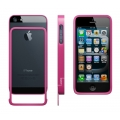 Luardi Slim Aluminum Bumper for iPhone 5, 5S, Pink