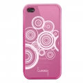 Luardi TPU Pattern Case iPhone 5, 5S - Pink