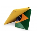 "Maclove Candy Flag ""Brazilia"" Case for iPad 4, iPad 3, iPad 2"