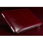 MacLove Genuine Leather Case Prince Red for iPad (ML25533)