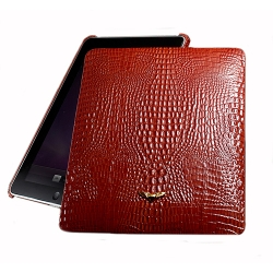 MacLove Genuine Leather Case Royal Duke Red for iPad