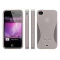 MacLove iSnow Sunrise Case Gray for iPhone 4 (ML53621)