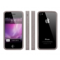MacLove iSnow Cilla Case Gray for iPhone 4 (ML53721)