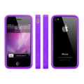 MacLove iSnow Cilla Case Purple for iPhone 4 (ML53755)