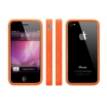 MacLove iSnow Cilla Case Orange for iPhone 4 (ML53763)