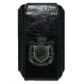 MacLove Leather Case Code 7-7 Classical Black for iPhone 4 (ML41105)