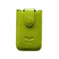 MacLove Genuine Leather Case Baron Green for iPhone 4 (ML25568)