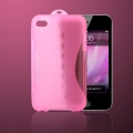 MacLove iSnow Sunrise Case Pink for iPod Touch 4G (ML73631)