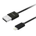 Macally Lightning USB Sync & Charge Cable, 3M - Black (MISYNCABLEL10)