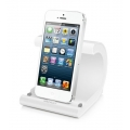 Macally Sync & Charge Dock with Lightning Connector - White (MCDOCKL)