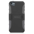 Macally Protective Case with Stand for iPod Touch 5G - Black&Grey (TANKB-T5)