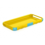 Macally Protective Case with Stand for iPod Touch 5G - Blue&Yellow (TANKBL-T5)
