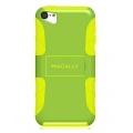 Macally Protective Case with Stand for iPod Touch 5G - Green&Yellow (TANKGR-T5)