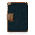 Macally Protective Case and Stand for iPad Mini - Black&Brown (BSTANDBL-M1)