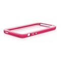 Macally Polycarbonate Bumper for iPhone 5, 5S - Red (RIMR-P5)