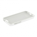 Macally Flexible Protective Case for iPhone 5C - White (FLEXFITP6-W)