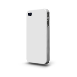 MicroShell White for iPhone 4