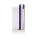 Accent White/Purple for iPhone 4, 4S