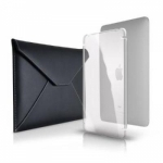 Eco-Envi Plus Black with Clear MicroShell for iPad