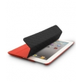 Melkco Leather Case Slimme Cover Type Red for iPad 4, iPad 3, iPad 2 (APNIPALCSC1RDLC)