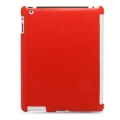 Melkco Leather Snap Cover Red LC for iPad 2 (APIPA2LOLT1RDLC)