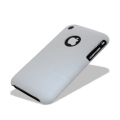 Melkco Leather Snap Cover White for iPhone 3G, 3GS (APIP3SLOLT1WELC)