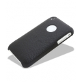 Melkco Leather Snap Cover Black for iPhone 3G, 3GS (APIP3SLOLT1BKLC)