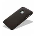 Melkco Leather Snap Cover Brown for iPhone 3G, 3GS (APIP3SLOLT1BNLC)