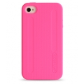 Melkco Double Layer Case for iPhone 4 Kubalt Type, Pink (APIPO4PSKU1PKPK)