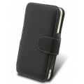 Melkco Leather Case Book Black for iPhone 4 (APIPO4LCBT1BK)